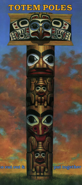 Totem Poles Haida Pole Craft By Bellerophon Books Release Date May 1999 CDN 795 Paperback